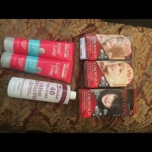 Revlon bundle hair dyes and cond John freidaNWT, used for sale
